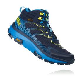 Hoka One One Sky Toa Running Shoes Men black iris/blue